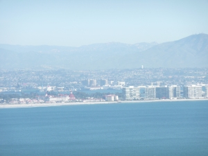 Downtown from Pt. Loma, landscape setting