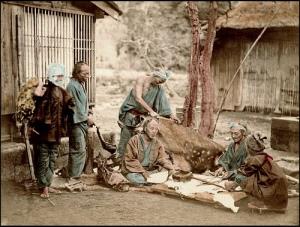 1873 Japanese Leather Workers (burakumin)