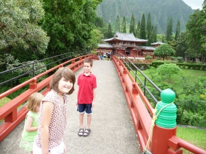 Bridge to the Byodo-Ib